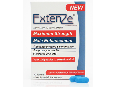 the price of Extenze  Male Enhancement Pills